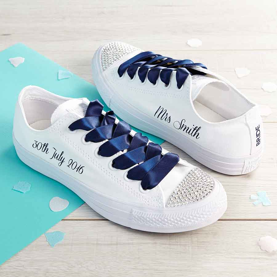 6684555fd1fa9a Custom Wedding Converse