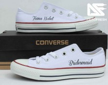 White Ox Custom Bridesmaid Converse