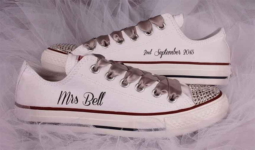 converse bridal